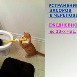 Бытовые услуги - Устранение засоров. Прочистка канализации, 0