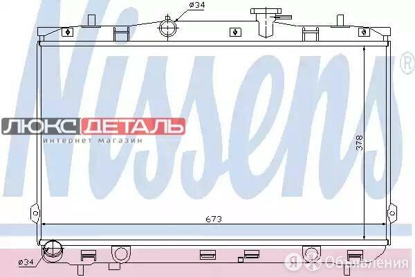 NISSENS 67024 Радиатор системы охлаждения HYUNDAI ELANTRA XD 1.6/2.0/2.0 CRDI... по цене 7058₽ - Отопление и кондиционирование , фото 0
