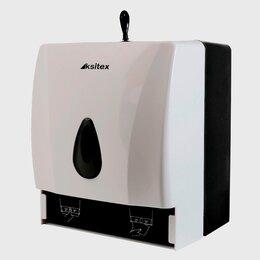 Аксессуары и комплектующие - Держатель бумажных листовых и рулонных полотенец Ksitex TH-8218A, 0