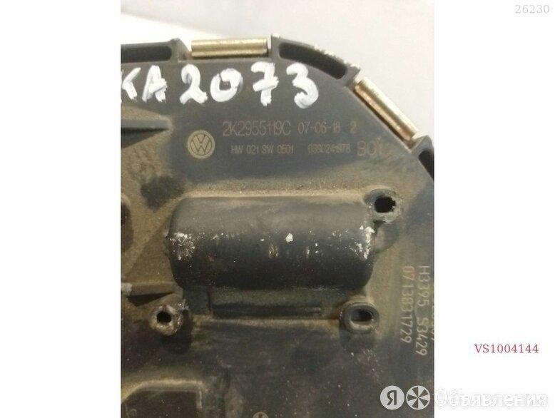 Мотор стеклоочистителя перед VAG VOLKSWAGEN TOURAN 1T2955119 по цене 450₽ - Электрика и свет, фото 0
