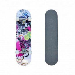 Скейтборды и лонгборды - Скейтборд TORRENT NFR-3108W разноцветный, 0