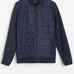 Куртки - Стеганая куртка пиджак мужская, 0