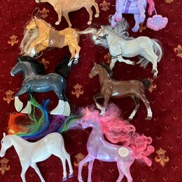 Игровые наборы и фигурки - Игрушечные лошади , 0