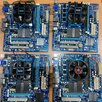 Материнская плата GIGABYTE GA-MA74GM-S2 с процессором по цене 1300₽ - Материнские платы, фото 1