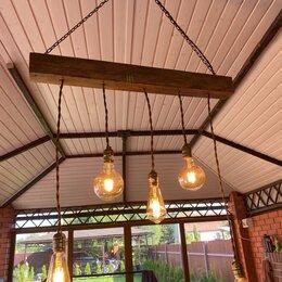 Настенно-потолочные светильники - Светильник в стиле лофт для беседки, бани, дома, 0