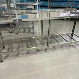 Прочее оборудование - Стол производственный из нержавейки 2000х600х850, 0