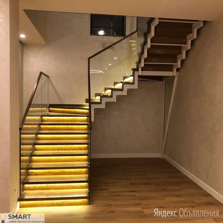 Умная подсветка лестниц, Бегущий свет по цене 7500₽ - Интерьерная подсветка, фото 0