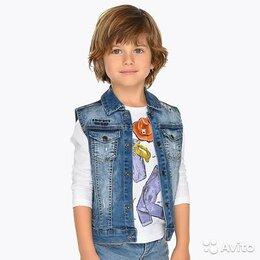 Жилеты - Жилет джинсовый Mayoral, 6 лет, 7 лет (2 размера), 0
