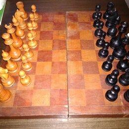 Фигурки и наборы - Шахматы дерево СССР, 0