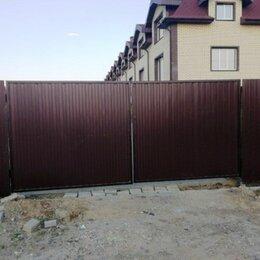 Архитектура, строительство и ремонт - Заборы и ворота из профнастила и не только., 0