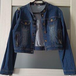 Куртки - Укороченная джинсовка, 0