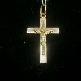 Кулоны и подвески - Крест золотой, 0