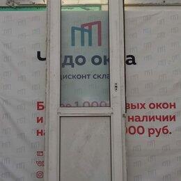 Окна - Балконная дверь, ПВХ Ivaper 62мм, 2250(В)х650(Ш) мм, 0