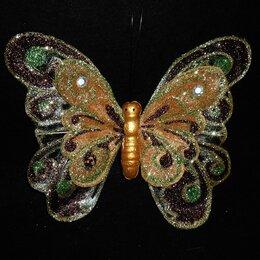 Украшения для девочек - Заколка бабочка большая 4831 20см, 0