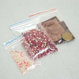 Упаковочные материалы - Пакет с защелкой (Гриппер) 15*20см, ПВД, 35мк, 100шт/уп, цена за шт, арт.PEZ0..., 0