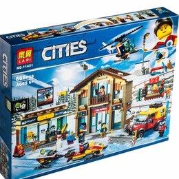 Конструкторы - Конструктор city 11451 горнолыжный курорт, 0