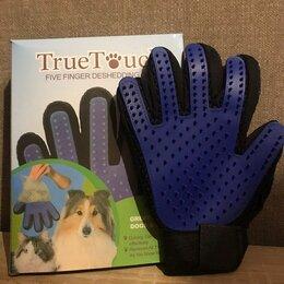 Груминг и уход - Перчатка для вычесывания шерсти кошек и собак, 0