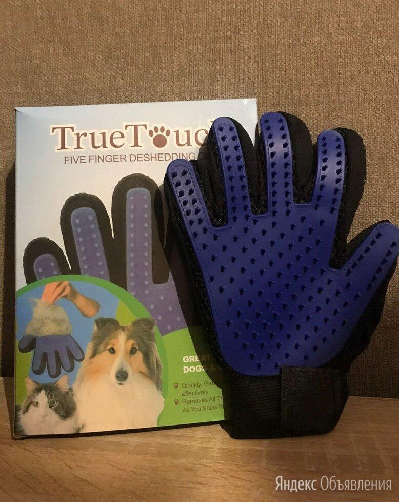 Перчатка для вычесывания шерсти кошек и собак по цене 200₽ - Груминг и уход, фото 0