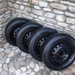Шины, диски и комплектующие - Летние колеса R15 на hyndai kia, 0
