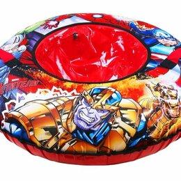 Тюбинги - Тюбинг «Мстители» с круговым дизайном (арт. TA-100/1) диаметр 100 см. , 0