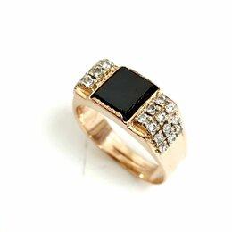 Кольца и перстни - Золотая мужская печатка 20 размер, 0