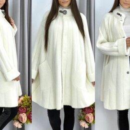 Пальто - Женское свободное пальто альпака р-ры 46-62, 0
