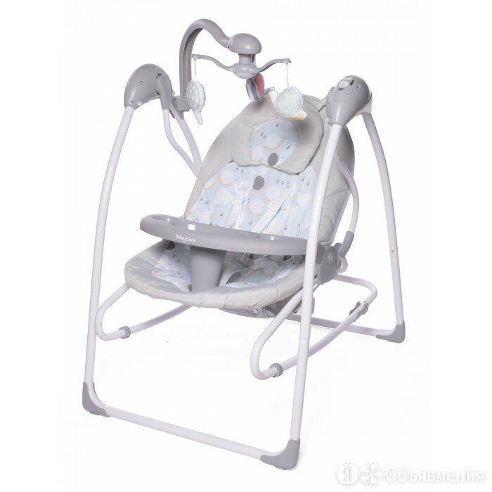 Babycare электрокачели icanfly 2 в 1 с адаптером/ цвет бежевый по цене 9854₽ - Качели, шезлонги, фото 0