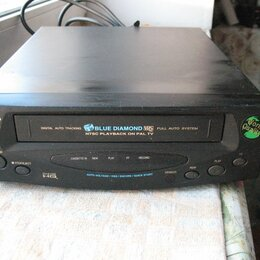 DVD и Blu-ray плееры - VHS-плеер daewoo blue diamond dv-k10w, 0