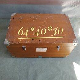 Другое - Военный деревянный чемодан, 0