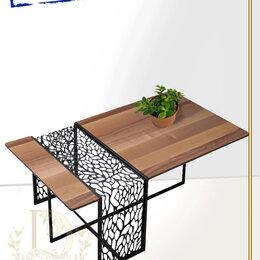 "Столы и столики - Стол квадро ""Daviani"" в стиле LOFT LUX (арт:3411), 0"