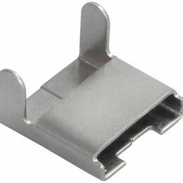 Товары для электромонтажа - Скрепа для ленты НС-20-L (без зубьев, C304) X, 0