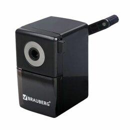 Мусаты, точилки, точильные камни - Точилка  мех. пласт. Brauberg BlackJack, черная (48), 0