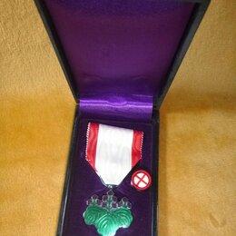 Жетоны, медали и значки - Япония Орден Восходящего Солнца 7 степени Серебро Оригинал Сохранность, 0