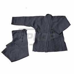 Спортивные костюмы - Кимоно чёрн ткань рубчик рост 100 см, 0