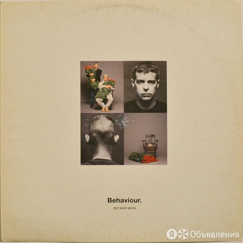 Pet Shop Boys — Behaviour, 1990 по цене 1250₽ - Виниловые пластинки, фото 0