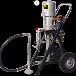 Электрические краскопульты - Окрасочный аппарат CONTRACOR ASP-281, 0