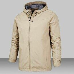 Куртки - Мужская куртка 52-54 с капюшоном, 0