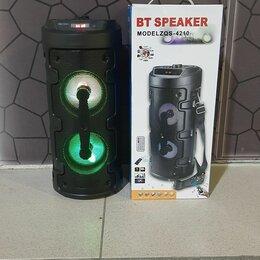 Портативная акустика - Колонка BT Speaker ZQS-4210, 0