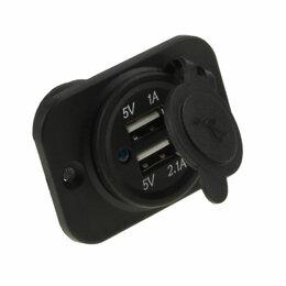 Электроустановочные изделия - Разъем USB 5В 3.1А на панели, 0