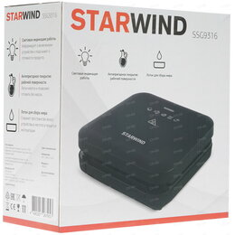 Электрические грили и шашлычницы - Электрогриль starwind ssg9316, 0