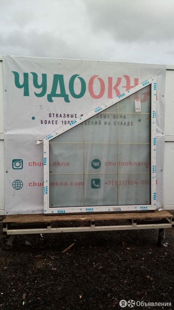 Окно, ПВХ Veka 58мм, 1700(В)х1400(Ш) мм, глухое, одностворчатое, 2-кам стп по цене 13000₽ - Окна, фото 0