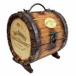 """Мини-бары - Бочка-бар """"Jack Daniel's"""" 33,5*30*28 см., 0"""