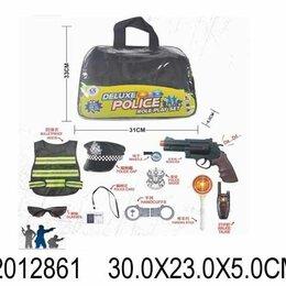 """Полицейские и шпионы - Набор полицейского в сумке """"Патрульный 3"""", 10 предметов, 0"""