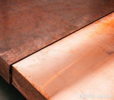 Плита бронзовая 6х600х1500 мм БРАЖМЦ по цене 850₽ - Металлопрокат, фото 0