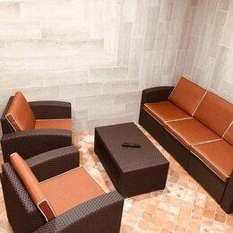 Плетеная мебель - Комплект мебели rattan premium 5 венге, 0