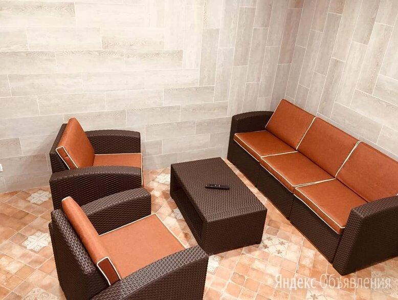 Комплект мебели rattan premium 5 венге по цене 58500₽ - Плетеная мебель, фото 0