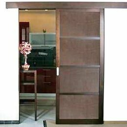 Межкомнатные двери - Раздвижные перегородки - с выставки, 0