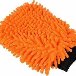 Аксессуары и запчасти - Варежка для мытья автомобиля из микрофибры, 0