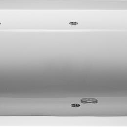 Гидромассажеры - Ванна гидромассажная Duravit D-Code 1600х700х420 водный массаж, ножки, слив-п..., 0