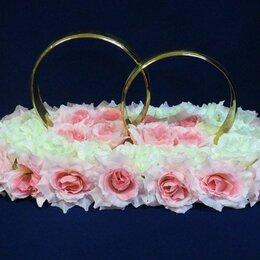 Свадебные украшения - Свадебные кольца на машину, 0
